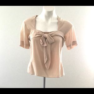 Moda International 100% silk blouse